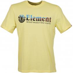 Element T-Shirt Glimpse Horizontal gelb