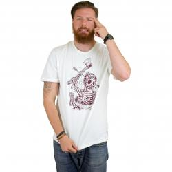 Element T-Shirt Grounded bone weiß