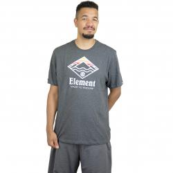 Element T-Shirt Layer dunkelgrau