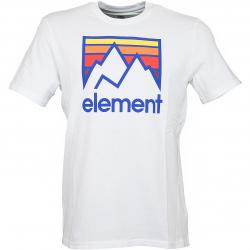 Element T-Shirt Link weiß