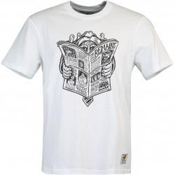 Element T-Shirt News Man weiß