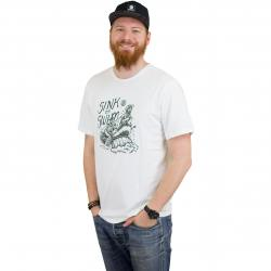 Element T-Shirt Rafters bone weiß