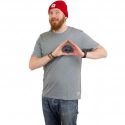 Element T-Shirt River Keeper grau