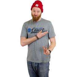 Element T-Shirt Signature grau heather