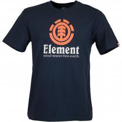 Element T-Shirt Vertical dunkelblau