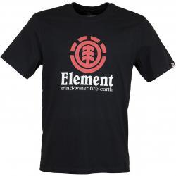 Element T-Shirt Vertical flint schwarz