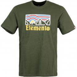 Element Wander Herren T-Shirt grün