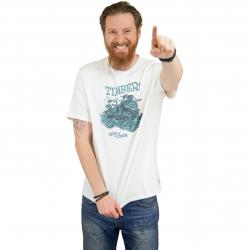 Element T-Shirt Woody weiß