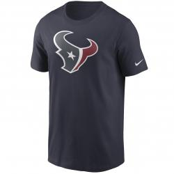 Nike NFL Houston Texans Logo Essential T-Shirt blau