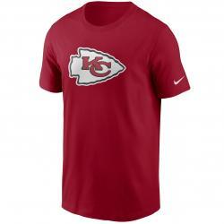 Nike NFL Kansas City Chiefs Logo Essential T-Shirt rot