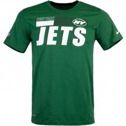 Nike NFL New York Jets Team Name Legend T-Shirt grün
