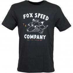Fox T-Shirt Bomber schwarz