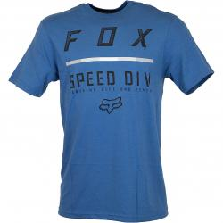 Fox T-Shirt Checklist dusty blau