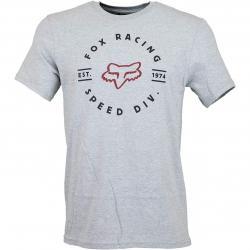 Fox T-Shirt Clocked Out hellgrau