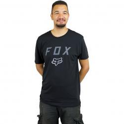 Fox T-Shirt Contended schwarz