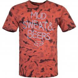 Fox Down N Dirty Herren T-Shirt rot