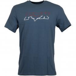 Fox T-Shirt Duel Head Basic dunkelblau