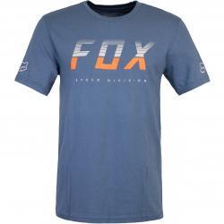 T-Shirt Fox End Of The Line blau