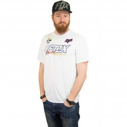 Fox T-Shirt Flection Tech weiß
