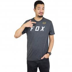Fox T-Shirt Grizzled Tech schwarz meliert