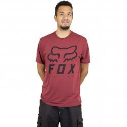 Fox T-Shirt Heritage Forger Tech rot meliert