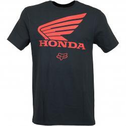 Fox T-Shirt Honda schwarz