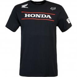 T-Shirt Fox Honda schwarz