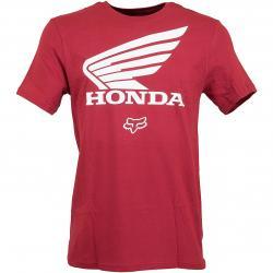 Fox T-Shirt Honda rot