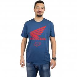 Fox T-Shirt Honda blau