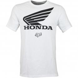 Fox T-Shirt Honda weiß