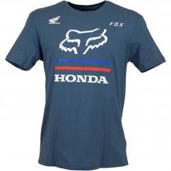 Fox T-Shirt Honda Premium dunkelblau