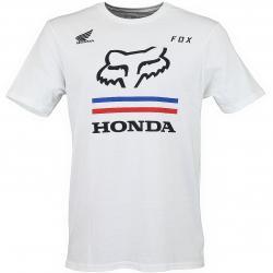 Fox T-Shirt Honda Premium weiß