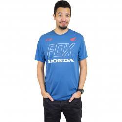 Fox T-Shirt Honda Tech blau