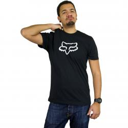 Fox T-Shirt Legacy Foxhead schwarz