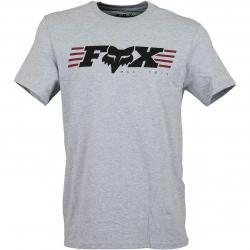 Fox T-Shirt Muffler hellgrau