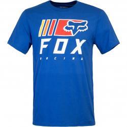 T-Shirt Fox Overkill blau