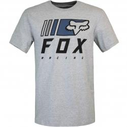 T-Shirt Fox Overkill grau