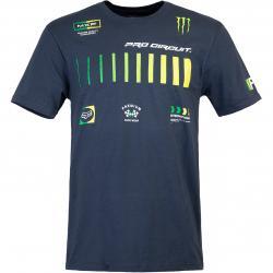 T-Shirt Fox Pro Circuit blau