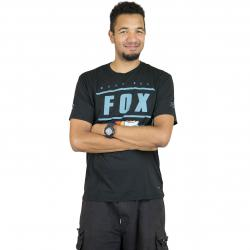 Fox T-Shirt Team 74 Tech schwarz