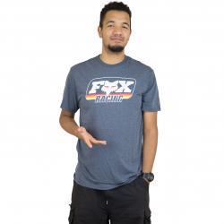 Fox Head T-Shirt Throwback Tech cobalt