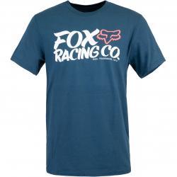 Fox Wayfarer T-Shirt blau