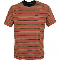 Globe T-Shirt Paradox rot/braun
