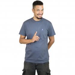 Iriedaily T-Shirt 8 Bit Dude Embroidered blau