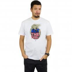 Iriedaily T-Shirt Act The Fool weiß