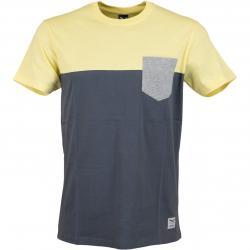 Iriedaily T-Shirt Block Pocket lemonade
