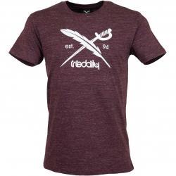 Iriedaily T-Shirt Chamisso Logo weinrot