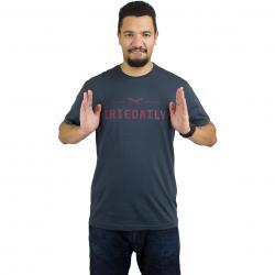 Iriedaily T-Shirt Class 94 Logo coal