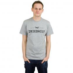 Iriedaily T-Shirt Class 94 Logo grau meliert