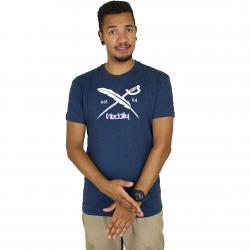 Iriedaily T-Shirt Daily Flag dunkelblau
