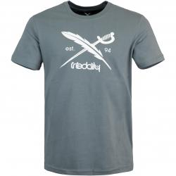 Iriedaily Daily Flag T-Shirt grau